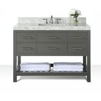 Ancerre Designs Elizabeth 48'' Single Bath Vanity Set