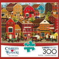 Buffalo Games - Charles Wysocki - Lilac Point Glen - 300 Piece Jigsaw Puzzle