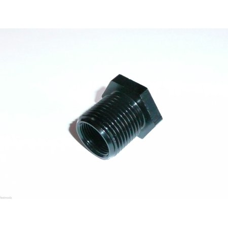5/8-24 to 13/16-16 Threaded Oil Filter Adapter Aluminum Automotive (Bbc Oil Filter Adapter)