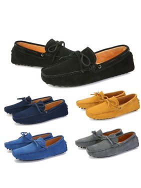 0ec6d2e6d24 Product Image Meigar Men s Loafers Driving Moccasins Soft Suede Leather  Penny Flats Casual Shoes