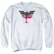 Dark Knight Rises Meow Mens Crewneck Sweatshirt