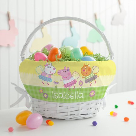 Personalized peppa pig spring easter basket walmart personalized peppa pig spring easter basket negle Gallery
