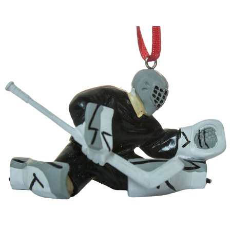 "3"" Hockey Player Goalie Christmas/Everyday Ornament"