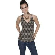 Scully Western Shirt Womens Pullover Spaghetti Strap Tank HC212