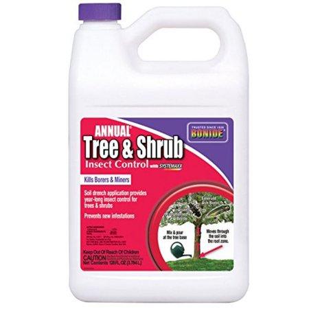 Bonide 611 Annual Tree and Shrub Insect Control, 128 Fl oz(1 Gallon)