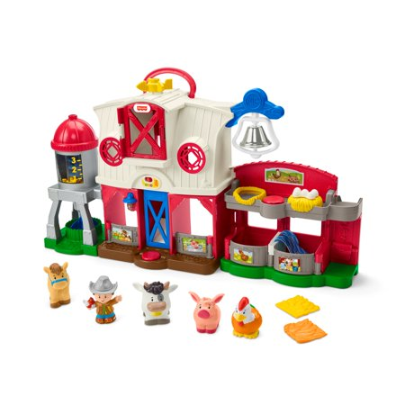 Little People Caring for Animals Farm Smart Stages Playset