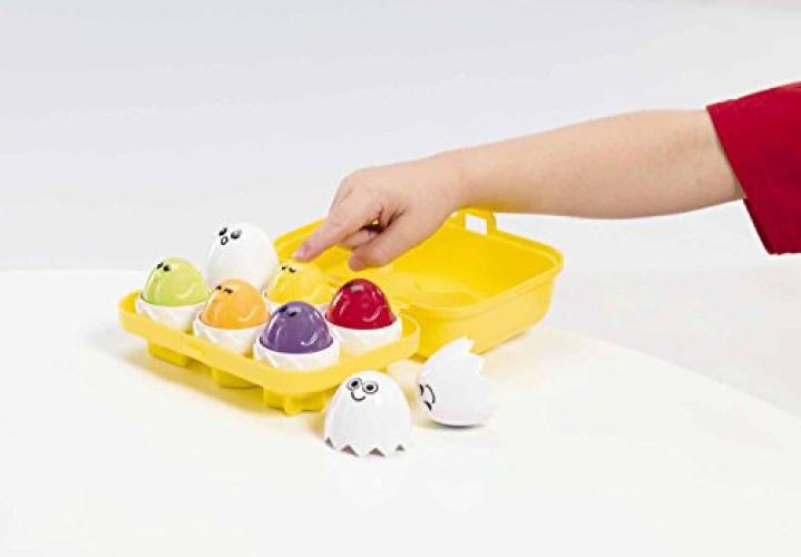 Employs Tactile Engagement – Mentally Stimulating Kidoozie Peek N Peep Eggs