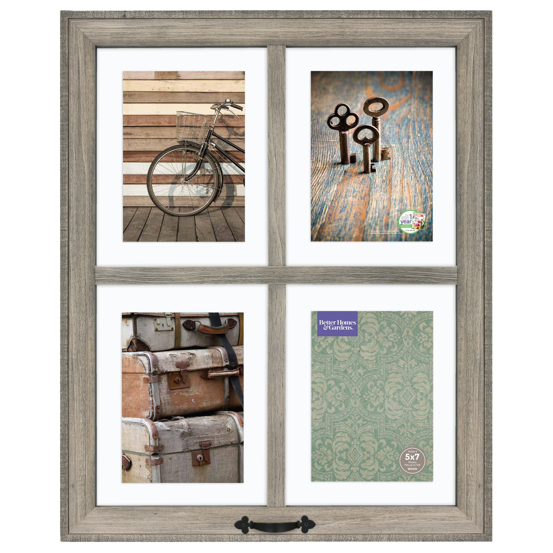 Better Homes Gardens 18 X 22 4 Openings Windowpane Frame