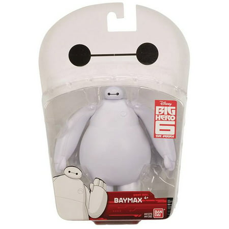 Bandai America - Big Hero 6 Articulated Action Figure, White Baymax](Big Hero 6 Baymax)