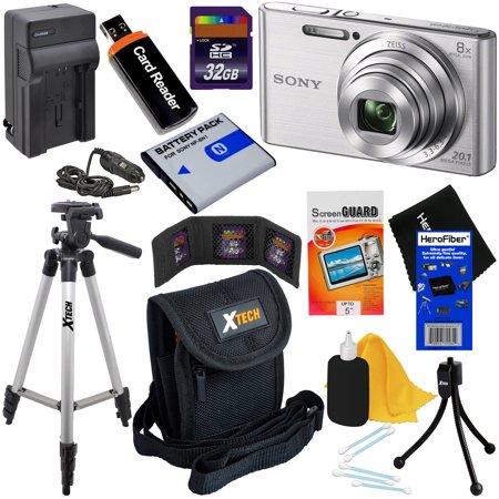 Sony Cyber Shot Dsc W830 20 1 Mp Digital Camera With 8x