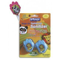 Kids Snap-On Toothbrush Sanitizer Dr. Tung's 2 ct Pack