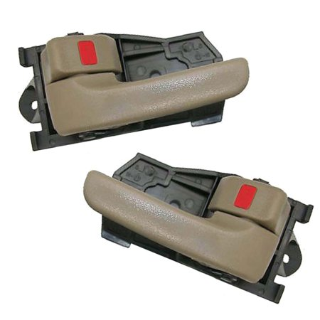 For 98-01 Toyota Sienna Tan Interior Inner Inside Door Handle 2PCS 98 99 00 01 DH01