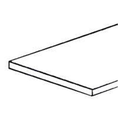 346809 Mill Finish Aluminum Sheet 8 x 16 In.
