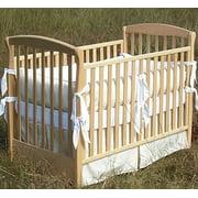 Ultimate Green Certified Organic Pima Cotton Sateen Crib Sheets