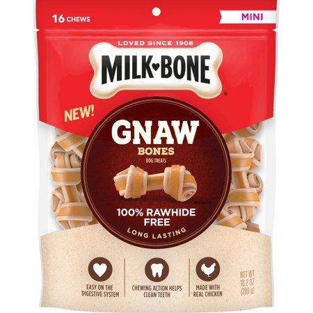 Milk-Bone Gnaw Bones Chews, Mini, 10.2 Oz.
