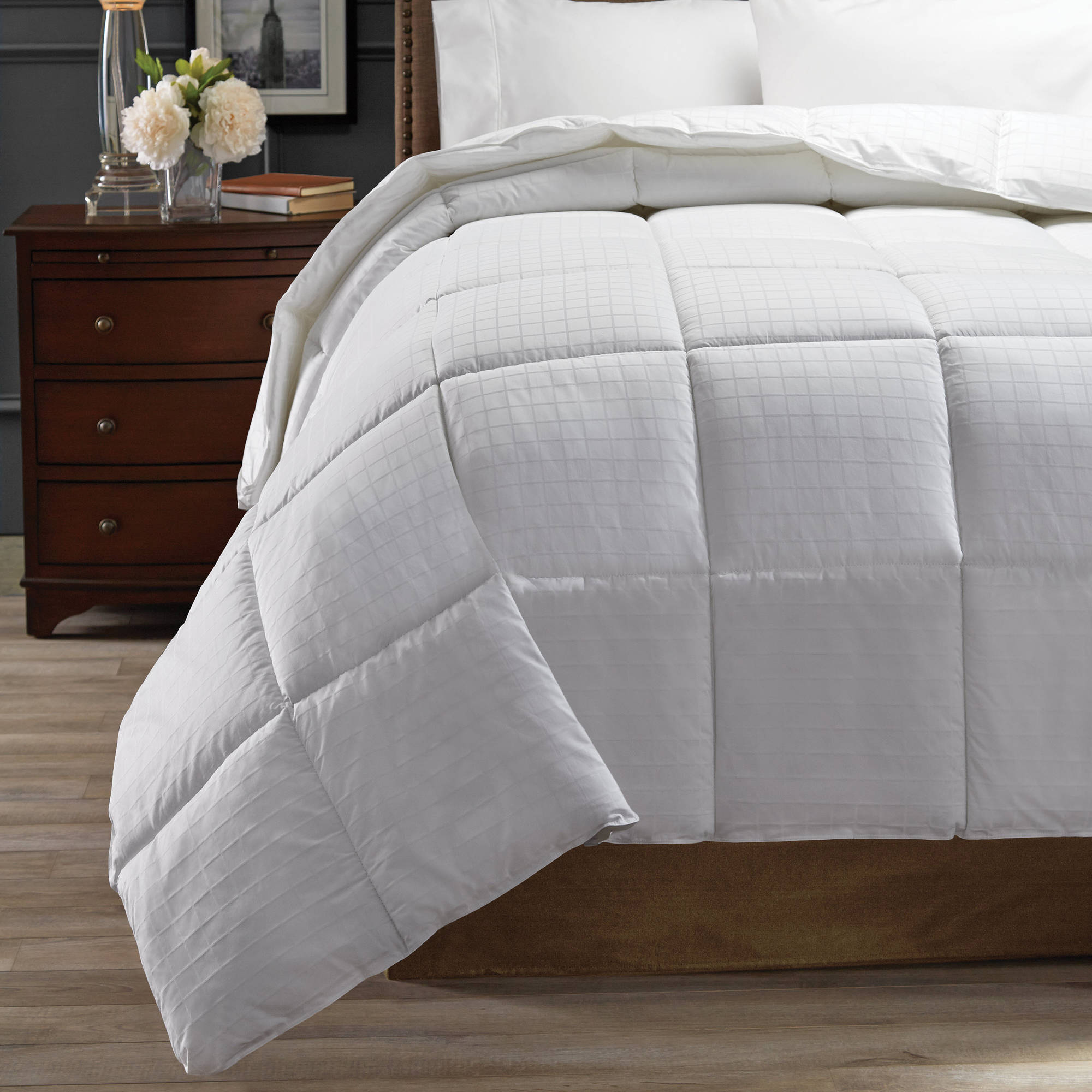 Hotel Style Cotton Heavy Warmth Down Alternative Comforter, 1 Each - Full/queen