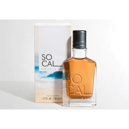 Hollister Socal Cologne Spray for Men, 1.7 Fluid Ounce