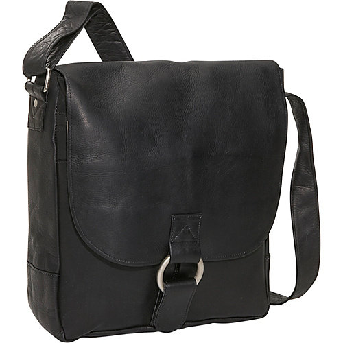 David King & Co. Vertical Laptop Messenger