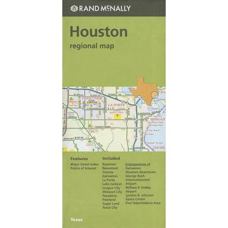 Folded Map Houston Tx Regional: 9780528007859