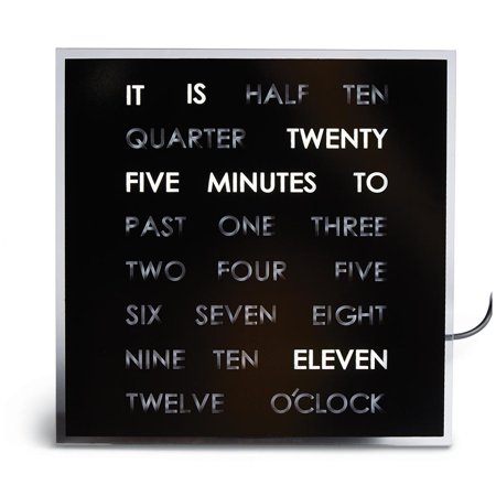 Apogee Word Clock (The Word Clock - Shows The Time In A)