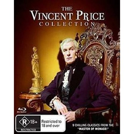 Vincent Price Collection (8 Blu-Ray) (Blu-ray)