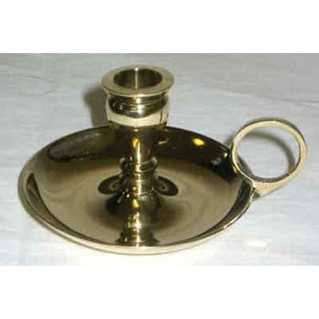 Old Fashioned Small Chime Brass Illumination Candle