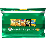 Frito Lay Baked and Popped Mix, 20 Count, 16.88 oz. Bag