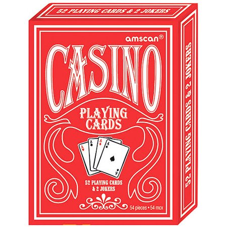 Casino Party Playing Cards (12)](Casino Royale Decorations)