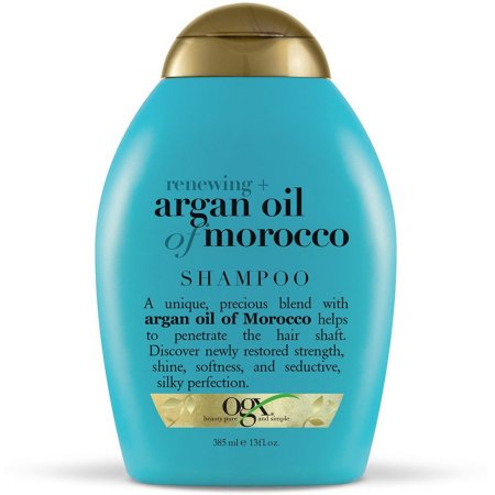 OGX Renewing Argan Oil of Morocco Shampoo, 13 Oz (Adding Essential Oils To Shampoo For Hair Loss)