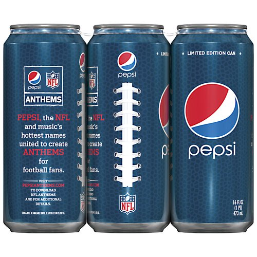 Pepsi Cola, 16 fl oz, 6-Pack