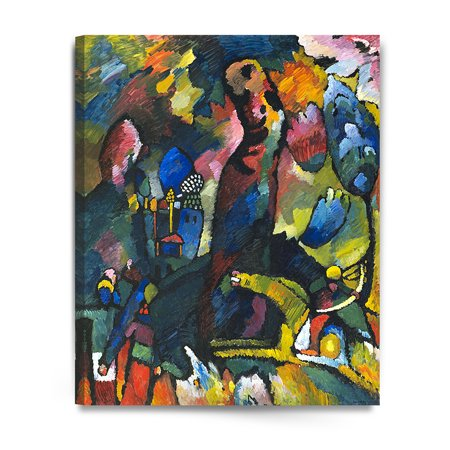 - DecorArts - Picture with an Archer, Wassily Kandinsky Abstract Art Reproduction. Giclee Canvas Prints Wall Art for Home Decor 24x30