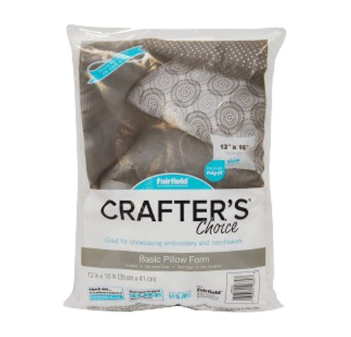 """Fairfield Crafter's Choice Pillow Insert 12"""" x 16"""""""