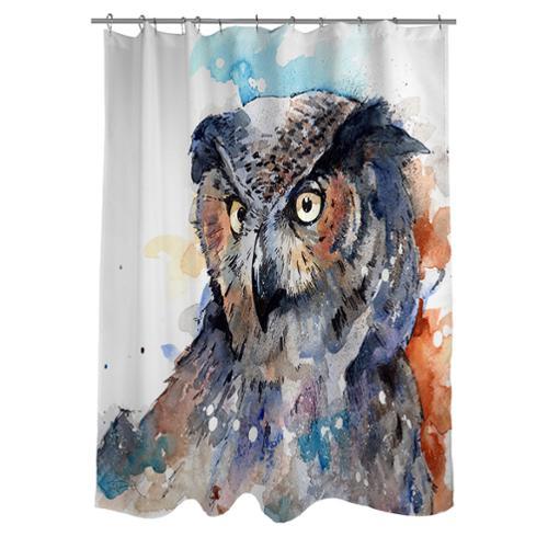 Owl Shower Curtains Walmart
