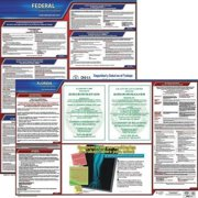 JJ KELLER 200-FL-3 Labor Law Poster,Fed/STA,FL,SP,20inH,3yr