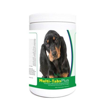 Healthy Breeds 840235174097 Black & Tan Coonhound Multi-Tabs Plus Chewable Tablets - 365