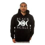 Black Scale Mens The Lunarology Pullover Hoodie Sweatshirt, black, Small