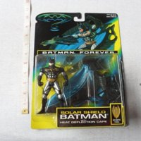 Batman Forever Solar Shield Batman Action Figure