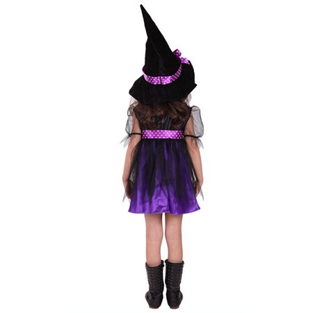 Toddler Kids Baby Girls Halloween hotsales Clothes Costume Dress Party Dresses+Hat Outfit](Halloween Party Outfit Ideas)