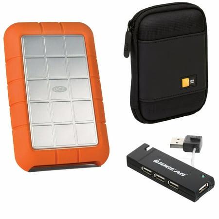 Lacie 500gb Rugged Triple Interface Usb 3 0 Portable Hard