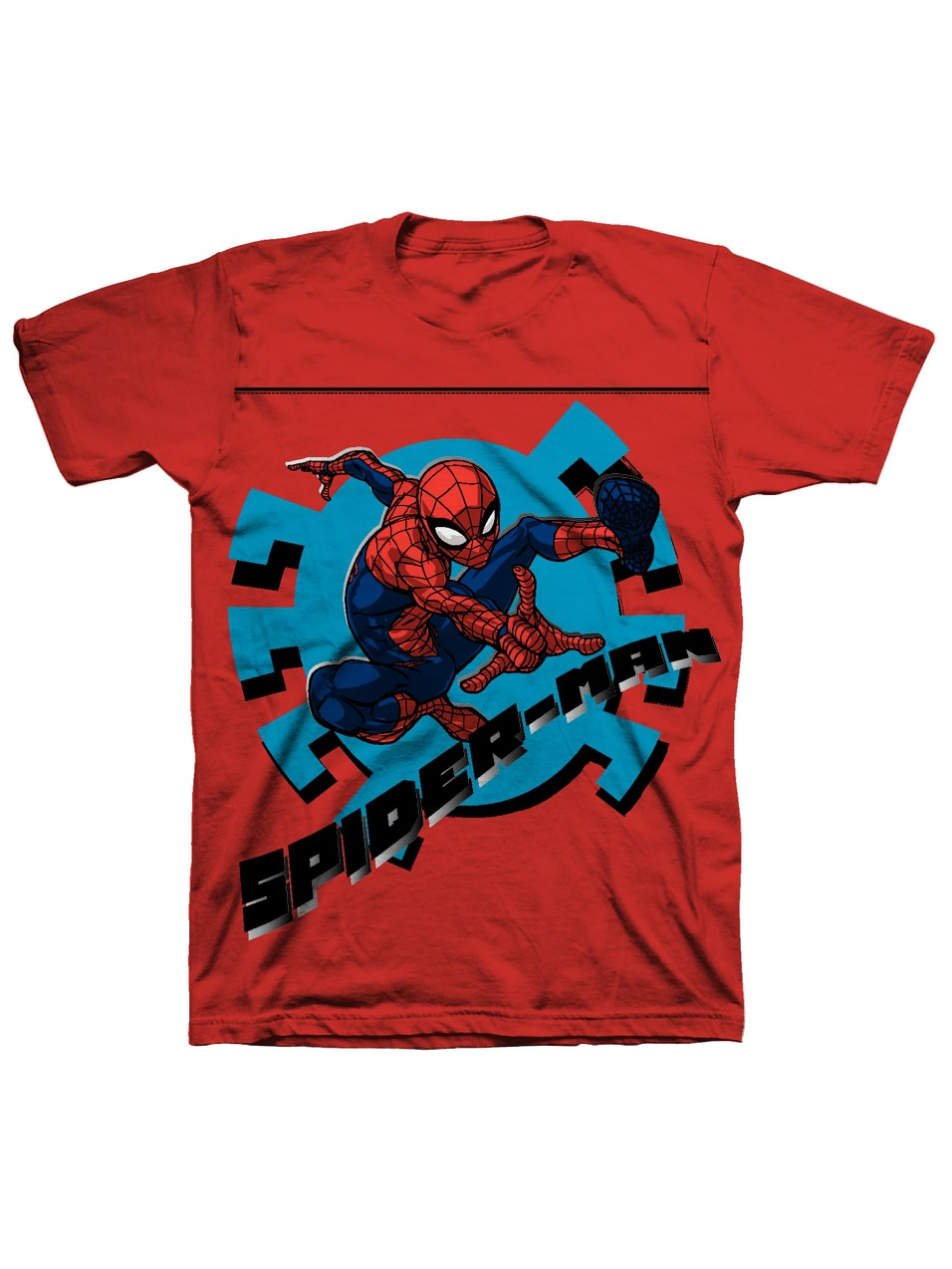 Spider-Man Short Sleeve Graphic Tee (Little Boys & Big Boys)
