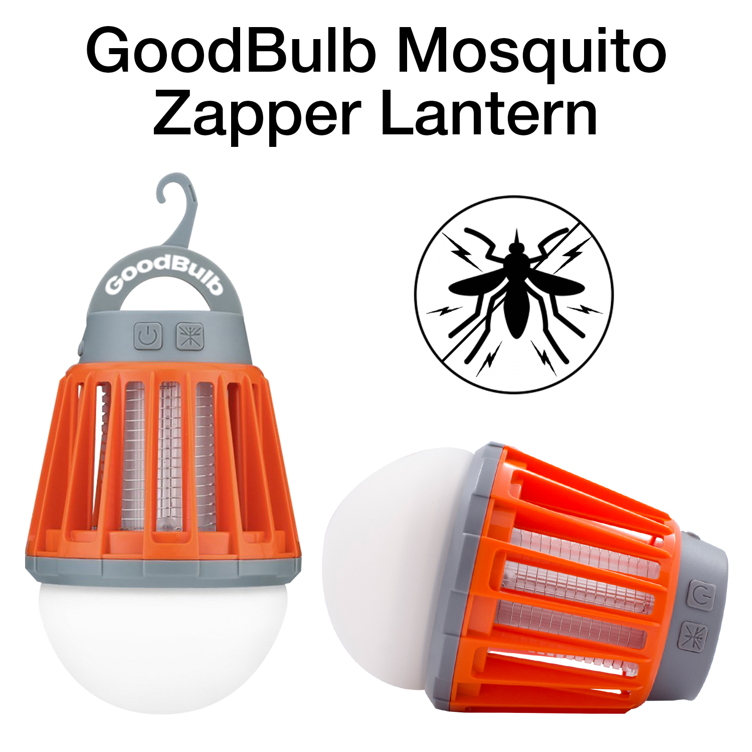 GoodBulb LED Outdoor Mosquito Zapper Waterproof and Lightning Proof Lantern with 2000mAh... by GoodBulb