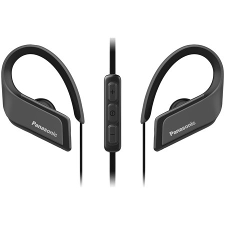 Panasonic RP-BTS35-K WINGS Ultralight In-Ear Sport-Clip Earphones with Bluetooth - Ultralight Wing