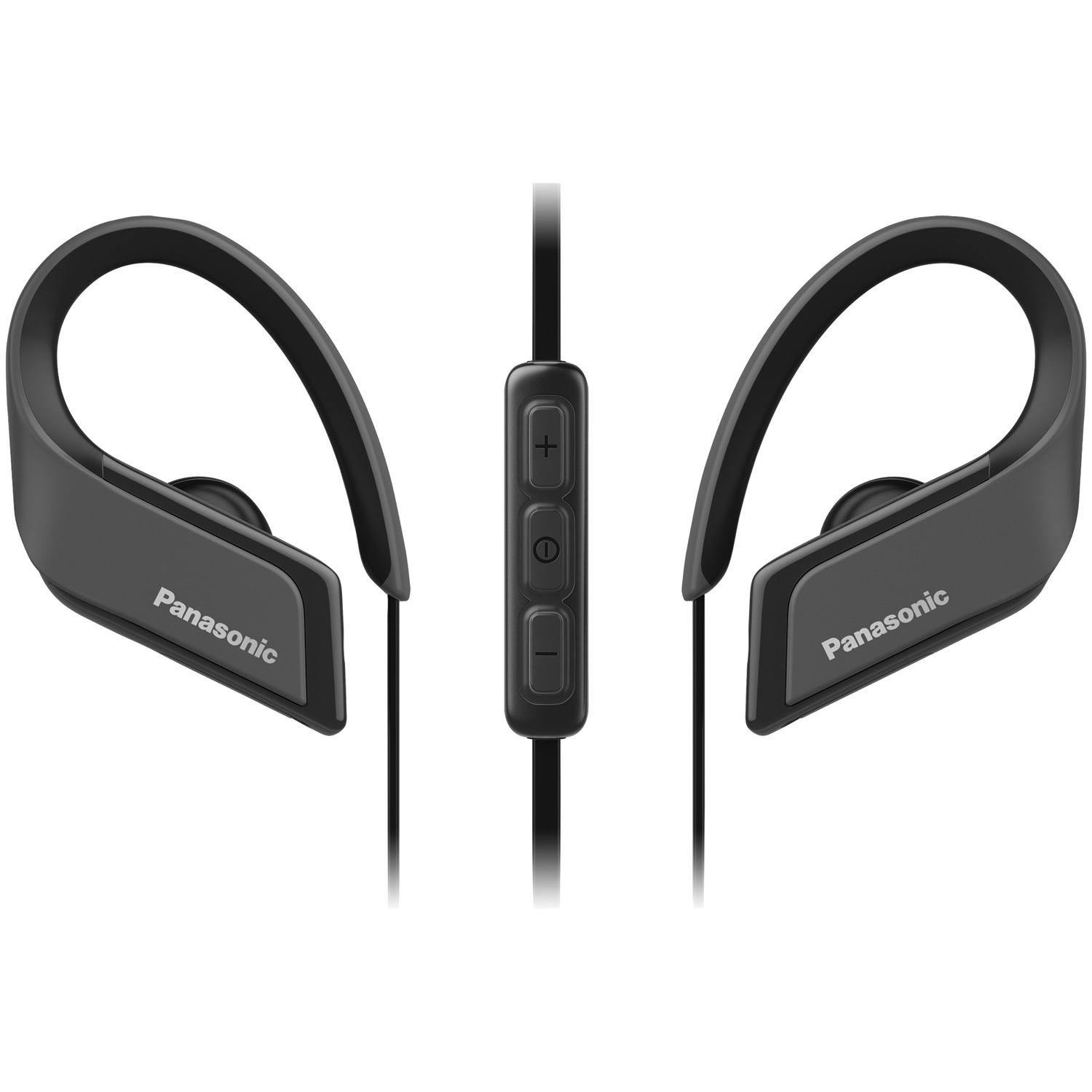 Panasonic RP-BTS35-K WINGS Ultralight In-Ear Sport-Clip Earphones with Bluetooth (Black)