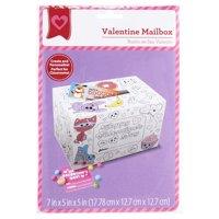 Color In Valentine Mailbox