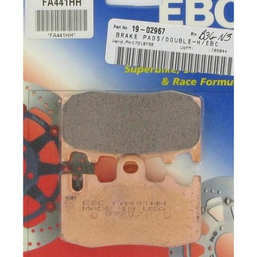 EBC Double-H Sintered Brake Pads Front Right Fits 06-08 BMW K1200GT