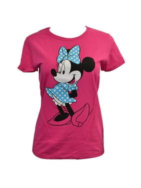 2d3bab726330f Minnie Mouse Juniors T-Shirts - Walmart.com