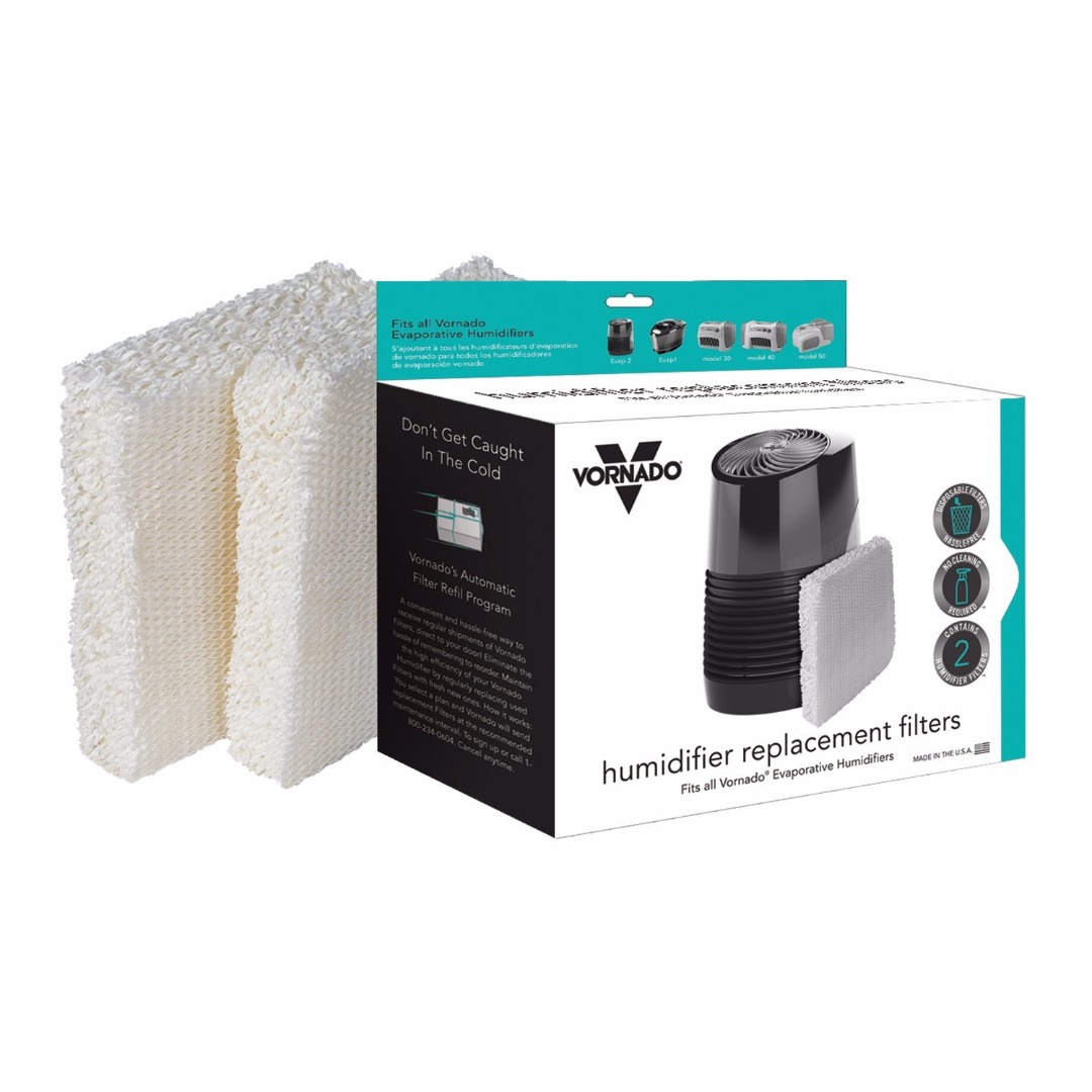 vornado replacement humidifier wick filters (2-pack) - walmart.com