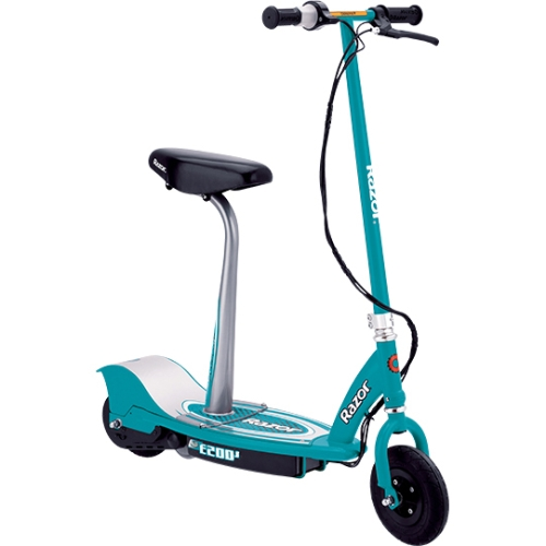 Razor E200S Seated Electric Scooter, Teal by Razor USA