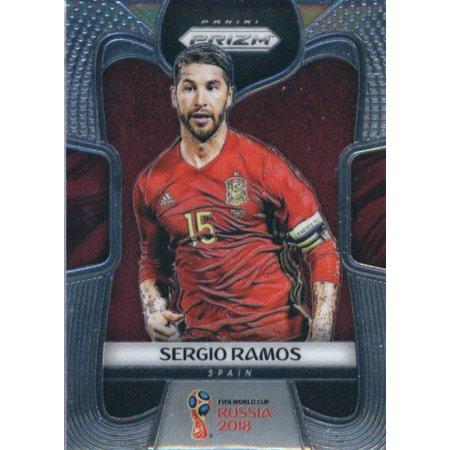 2018 Panini Prizm #200 Sergio Ramos Spain Soccer Card