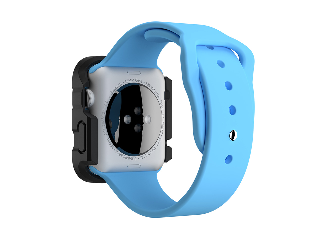 official photos c6d68 fcc46 Griffin Survivor Tactical Case for Apple Watch 38mm, You and your Apple  Watch. Ready for anything.